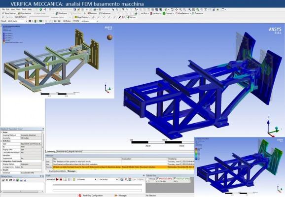 Calcolo strutturale ed analisi FEM 01